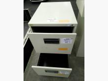 [8成新] 兩層公文櫃辦公櫥櫃有輕微破損