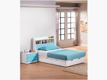 [全新] 粉藍童話3.5尺床頭箱$5500單人床架全新
