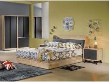 [全新] 天閣工業風5尺床頭箱$4900雙人床架全新