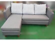 [全新] OZ12002全新L型皮沙發L型沙發全新