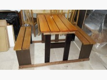 [全新] 再生傢俱~全實木可拆裝啤酒桌其它桌椅全新