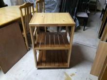 [全新] 松木~松木可移動工作台收納其它櫥櫃全新