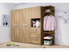 [全新] 米蘭8.5尺組合衣櫃衣櫃/衣櫥全新