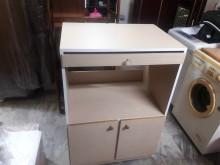 [全新] 手作實木貼皮~大電器櫃碗盤櫥櫃全新
