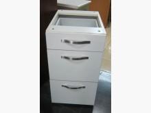 三合二手物流(三抽邊櫃)其它櫥櫃無破損有使用痕跡