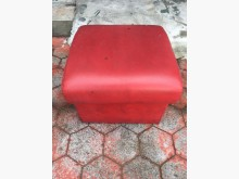 非凡二手家具 酒紅色 皮製 矮凳其它桌椅無破損有使用痕跡