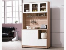 [全新] 艾諾北歐4尺餐櫃碗盤櫥櫃全新