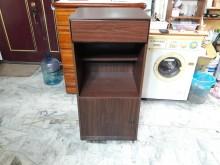 [全新] 再生傢俱~實木桃木色電器櫃碗盤櫥櫃全新