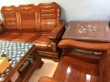 [9成新] 酸枝客廳沙發組木製沙發無破損有使用痕跡
