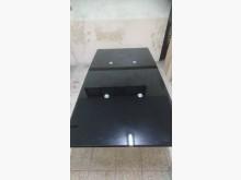 [9成新] 玻璃餐桌可伸縮餐桌無破損有使用痕跡