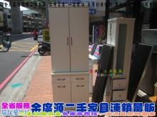 二手家具/北屯/白色餐櫃收納櫃有輕微破損
