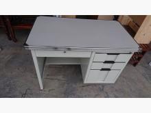 ☆學成☆二手很新的四抽鐵桌書桌/椅無破損有使用痕跡