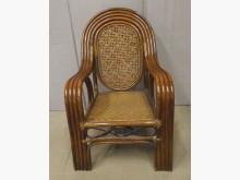 [7成新及以下] 二手單人老藤椅 桃園區免運費籐製沙發有明顯破損
