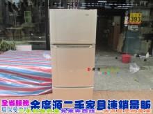 二手家具/北屯/聲寶三門冰箱冰箱有輕微破損