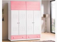 [全新] 時尚傢俱-B全新}童話雙5尺衣櫥衣櫃/衣櫥全新