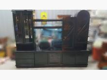 [8成新] 墨綠色整組電視櫃 宏品家具電視櫃有輕微破損