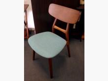 羅莎柚木色實木餐椅 日式餐椅造型餐椅全新