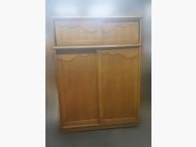 [8成新] B515EJ 原木色滑門衣櫃衣櫃/衣櫥有輕微破損