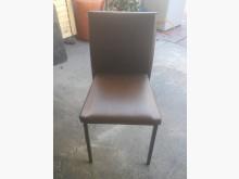 [8成新] F517EJJ 咖啡色皮面餐椅餐椅有輕微破損