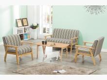 [全新] 時尚傢俱-C全新}線條布沙發茶几多件沙發組全新