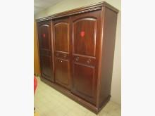 三合二手物流(實木7尺7衣櫃)衣櫃/衣櫥無破損有使用痕跡