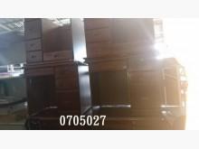 [7成新及以下] 中古/二手 柚木色半實木書桌書桌/椅有明顯破損