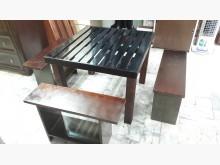 [全新] 再生傢俱~實木四人泡茶桌椅組餐桌椅組全新