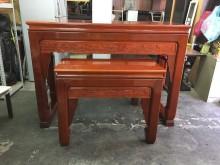 非凡二手家具 紅花梨木 實木神桌其它桌椅無破損有使用痕跡