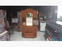 [95成新] 快樂福二手倉庫實木造型玄關鏡組其它古董家具近乎全新