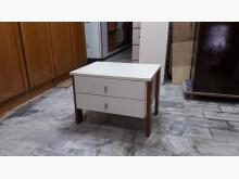 [全新] 再生傢俱~實木白彰色床邊櫃床頭櫃全新