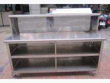三合二手物流(白鐵餐檯)其它櫥櫃無破損有使用痕跡