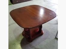 [9成新] 實木可伸縮餐桌餐桌無破損有使用痕跡