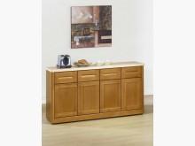 [全新] 辛吉絲5尺石面餐櫃**現場有展示碗盤櫥櫃全新