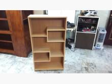 [全新] 再生傢俱~實木木紋色書櫃書櫃/書架全新