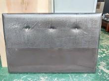 全新品 康乃馨5尺皮床頭片床頭櫃全新