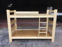 [全新] 全新精品 松木實木3.5尺雙層床單人床架全新