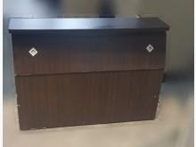 [8成新] B82702 胡桃色單人床頭櫃床頭櫃有輕微破損