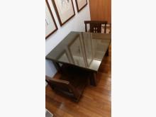 [95成新] 原木合室桌椅組90*90*48餐桌椅組近乎全新