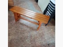 [9成新] 實木戶外休閒椅120*31*46其它桌椅無破損有使用痕跡