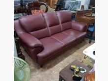 [9成新] 3人做皮沙發出清特價雙人沙發無破損有使用痕跡