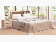 [全新] 水晶蘭橡木色5尺床頭+床底雙人床架全新