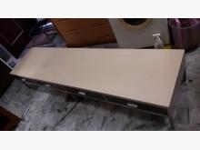 [9成新] 九成新七尺白鐵座電視櫃.4千免運電視櫃無破損有使用痕跡