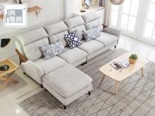 高背灰色L型沙發高背灰色L型沙發L型沙發全新