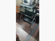 [9成新] 強化玻璃電腦桌80*48*76電腦桌/椅無破損有使用痕跡