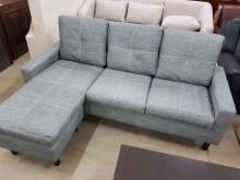[全新] 毅昌二手家具~全新貓抓皮小L沙發L型沙發全新