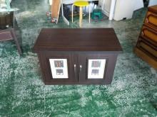 合運二手傢俱~胡桃色造型電視櫃電視櫃有輕微破損