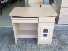 [全新] 全新精品幸運草白橡木色3尺電腦桌電腦桌/椅全新