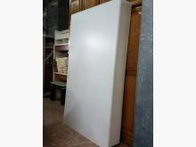 白色3.5尺床底單人床架無破損有使用痕跡