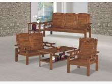 [全新] 時尚傢俱-B全新}雲杉實木板椅組木製沙發全新