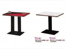 [全新] 美耐板2x3尺餐桌 含黑色鐵腳餐桌全新